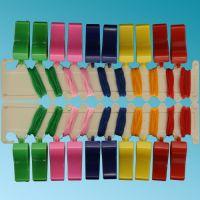 Σφυρίχτρες πλαστικές με κορδόνι (24 τεμ.)