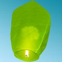SKY LANTERN 108 Χ 60 Χ 40 cm LIME GREEN
