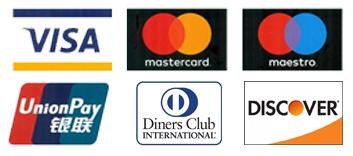 Visa Mastercard Maestro Unionpay