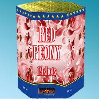 Πυροτεχνήματα 19 βολών Red Peony ΚΑΤ. F2
