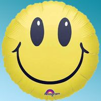 Μπαλόνι foil Smiles 18΄΄ στρογγυλό Anagram