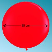 Balloon latex R300 decor red cherry