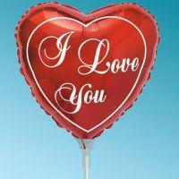 Μπαλόνι foil Mini Καρδιά i love you