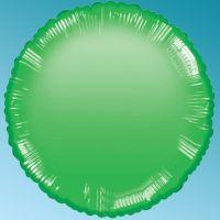Balloon Foil Green 18'' Round