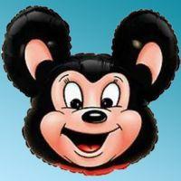Μπαλόνι foil κεφάλι Mighty Mouse μαύρο