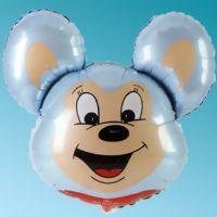 Μπαλόνι foil κεφάλι Mighty Mouse σιέλ