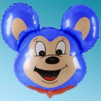 Μπαλόνι foil κεφάλι Mighty Mouse μπλε