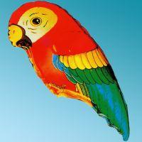 Balloon Foil Parrot Animals