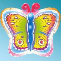 Balloon Foil Butterfly 26'' Animals Qualatex