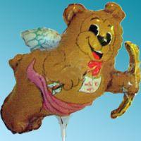 Μπαλόνι foil Mini Happy Valentine's Day Αρκουδάκι