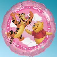 Balloon Foil Winnie The Pooh It's a Girl 18'' Rouns Anagram