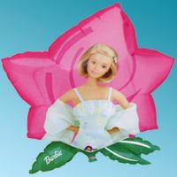"Μπαλόνι foil Barbie Dreamtime Flower 23"" Cartoons Anagram"