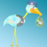 Μπαλόνι foil Delivery Stork Air-Walker Anagram