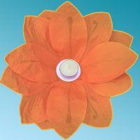 Φαναράκι νερού Πορτοκαλί με τρία επίπεδα