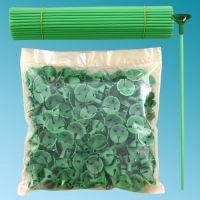 Καλαμάκια στήριξης μπαλονιών 27 εκ. πράσινα
