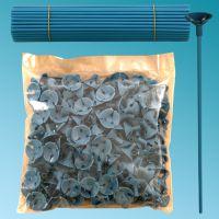Καλαμάκια στήριξης μπαλονιών 27 εκ. μπλε