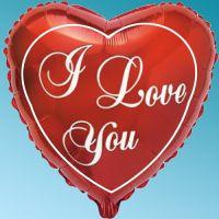 Μπαλόνι foil Καρδιά i love you 18΄΄