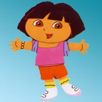 "ΜΠΑΛΟΝΙ FΟΙL DORA 25"" CARTOONS ANAGRAM"