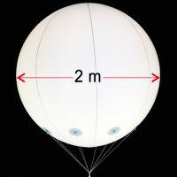 Μπαλόνι φωτιζόμενο PVC 2m