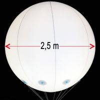 Μπαλόνι φωτιζόμενο PVC 2,5m