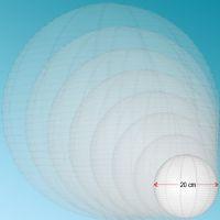 Μπάλα από ριζόχαρτο 20cm