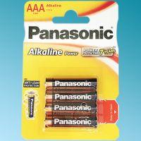 Μπαταρίες Panasonic 1,5V AAA Alkaline (4 τεμ.)