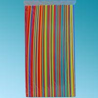 Καλαμάκια φωσφοτιζέ πολύχρωμα 70 cm