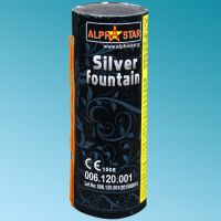 Stage fountain silver 2m/20sec MX68025 Fireworks CAT. T1