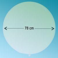 Μπαλόνι latex 3' ft διάφανο Qualatex