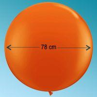 Μπαλόνι latex 3' ft πορτοκαλί Qualatex