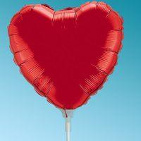 Μπαλόνι Foil Mini Καδριά κόκκινη