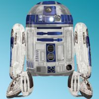 Μπαλόνι foil R2 D2 Star Wars Air-Walker Anagram