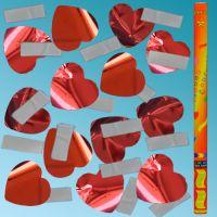 Κανονάκια 101 80cm με λευκό χαρτί & κόκκινη καρδιά