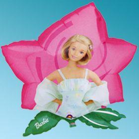 """Μπαλόνι foil Barbie Dreamtime Flower 23"""" Cartoons Anagram"""