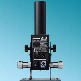 CO2 JET DMX 512 X-4 Dj Power