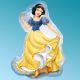 """Μπαλόνι foil Snow White 22"""" Cartoons Anagram"""
