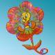 Balloon Foil Tweety Flower 24'' Anagram