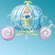 Μπαλόνι foil Άμαξα Σταχτοπούτας